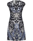 McQ by Alexander McQueen Knee-Length Dress - Lyst