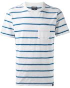 Woolrich Striped T-Shirt - Lyst
