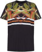 Givenchy Flame Print Tshirt - Lyst