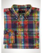Polo Ralph Lauren Floral-Plaid Sport Shirt - Lyst