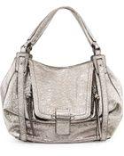 Kooba Jonnie Metallic Woven Shoulder Bag - Lyst