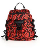 Alexander McQueen Printed Backpack - Lyst