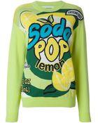 Moschino 'Soda Pop' Intarsia Sweater - Lyst