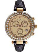 Tommy Bahama Women'S Swiss Brown Woven Leather Strap Watch 40Mm Tb2160 - Lyst