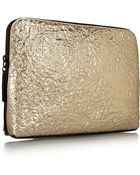 3.1 Phillip Lim 31 Minute Cosmetic Zip Textured-Leather Clutch - Lyst