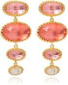 Larkspur & Hawk Small Orange Tessa Earrings - Lyst
