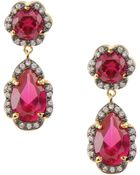 Cz By Kenneth Jay Lane Earrings - Lyst