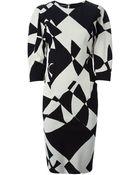By Malene Birger 'Teash' Printed Dress - Lyst