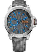Boss by Hugo Boss Orange Quartz Watch, 52Mm - Lyst