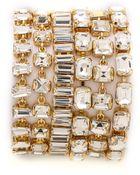 Kate Spade Vegas Jewels Bracelet - Clear - Lyst