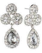 Givenchy Crystal Pear Drop Earrings - Lyst
