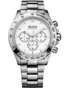 Hugo Boss Men'S Chronograph Stainless Steel Bracelet Watch 44Mm 1512962 - Lyst
