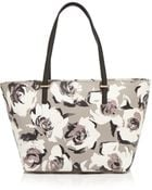 Kate Spade Cedar Street Floral-Print Saffiano Leather Tote - Lyst