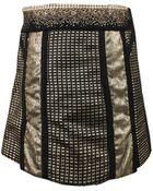 Marchesa Voyage Embellished Mini Skirt - Lyst