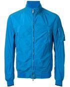 C P Company Dyed Nylon Zipped Jacket - Lyst