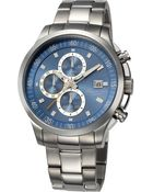 Kenneth Cole New York Mens Chronograph Stainless Steel Bracelet Watch 45mm - Lyst