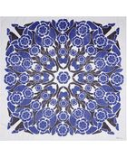Alexander McQueen Kaleidoscopic Floral Print Silk Chiffon Scarf - Lyst