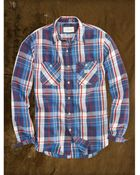 Ralph Lauren Lightweight Flannel Shirt - Lyst
