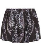 IRO Dafne Printed Mini Skirt - Lyst