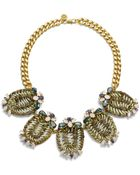 Tory Burch Formosa Statement Necklace - Lyst