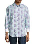 Robert Graham Brando Paisley Check Sport Shirt - Lyst