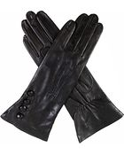 Dents Silk-Lined Leather Gloves - Lyst