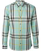 Burberry London Checked Shirt - Lyst