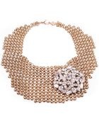 Lulu Frost Single Mesh Necklace - Lyst