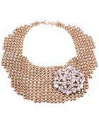 Lulu Frost Single Mesh Necklace - Lyst