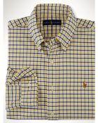 Polo Ralph Lauren Tattersall Oxford Sport Shirt - Lyst
