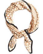 Brooks Brothers Basketweave Silk Scarf - Lyst