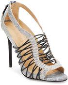L.a.m.b. Raivyn Leather Strappy Heeled Sandals - Lyst