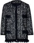 Anna Sui Boucle Jacket - Lyst