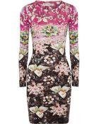 Mary Katrantzou Jewel-Print Silk-Jersey Dress - Lyst
