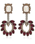 Mawi Crystal Cluster Drop Earrings - Lyst