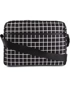 Emporio Armani Check Print Laptop Bag - Lyst