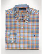 Polo Ralph Lauren No-Iron Plaid Sport Shirt - Lyst
