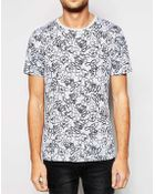 Selected T-Shirt With Mickey Mouse Print - Lyst