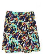 Kenzo Torn Flowers Printed Skirt - Lyst