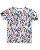 Carven Printed Cotton T-Shirt - Lyst