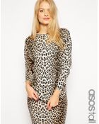 Asos Tall Sweater in Leopard Print - Lyst