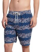 Tommy Hilfiger New Lanai Striped Swim Trunks - Lyst