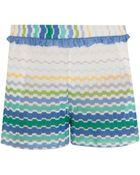 Missoni Frill Shorts - Lyst