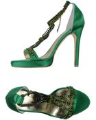 Penrose London Sandals - Lyst