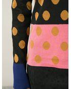 Sonia By Sonia Rykiel Polka Dot Sweater - Lyst