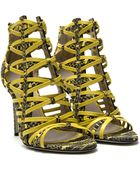 Jason Wu Strappy Woven Sandals - Lyst