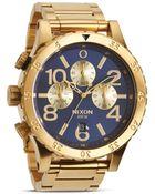 Nixon The 48-20 Chrono Watch, 48Mm - Lyst