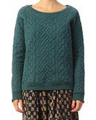 Leon & Harper Sweatshirt - Tulip Torsade - Lyst