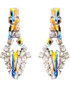 Tom Binns Dipped Crystal Earrings - Lyst