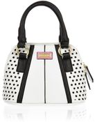 River Island Girls White And Black Tote Bag - Lyst